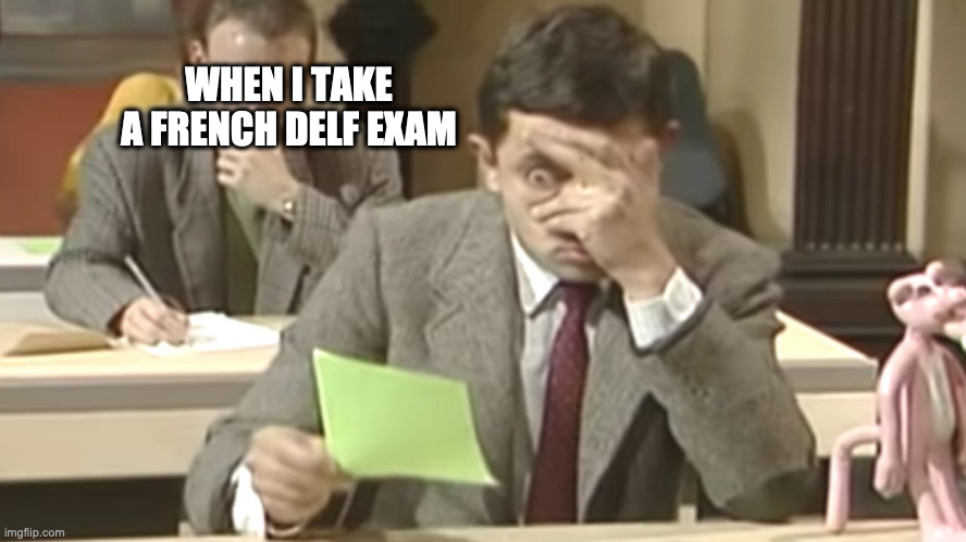French DELF exam